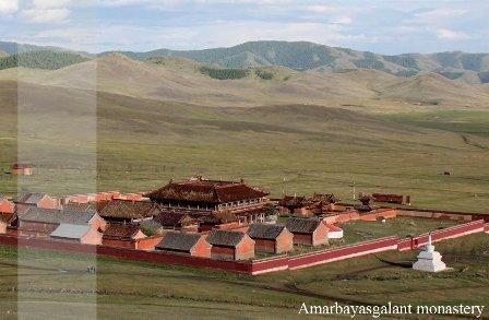 Amarbayasgalant Buddhist Monastery