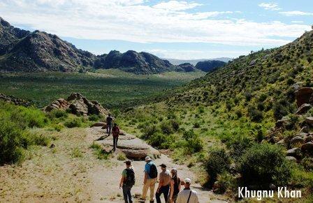 Khugnu Khan Mountain National Park