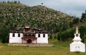 Baldan Bereeven Monastery in Eastern Mongolia