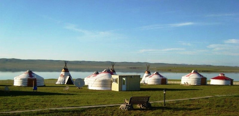 Hatan Ogii Tourist Ger camp in Mongolia