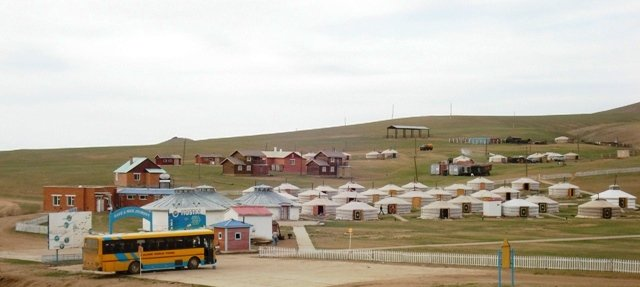 Hustai Tourist Ger camp in Mongolia
