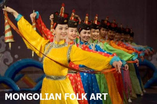 Mongolian Folk Art Culture