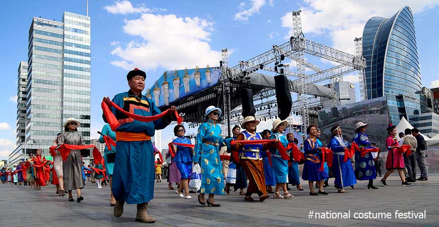 National values of Mongolians