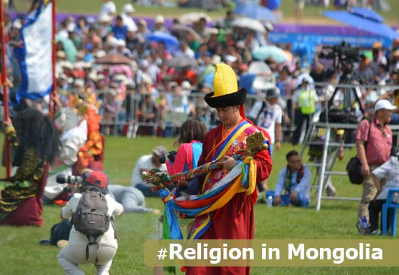 Religion in Mongolia