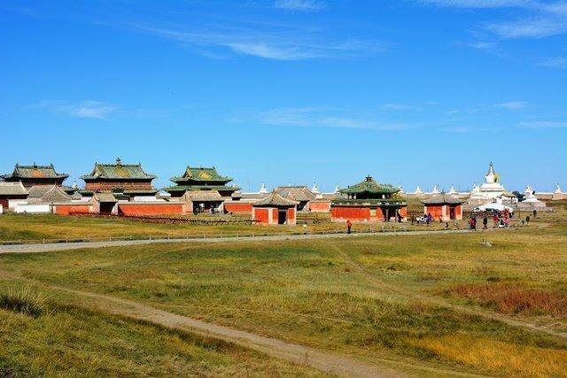 Erdene Zuu Buddhist Monastery is tourist attraction
