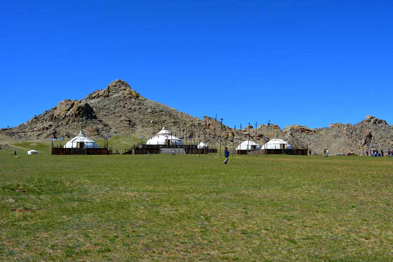 13th century complex theme park in Mongolia