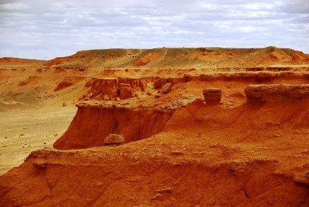 Dinosaur Fossil Sites in the Mongolian Gobi