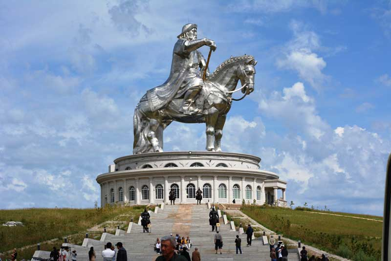Equestrian statue of Genghis Khan, Mongolia