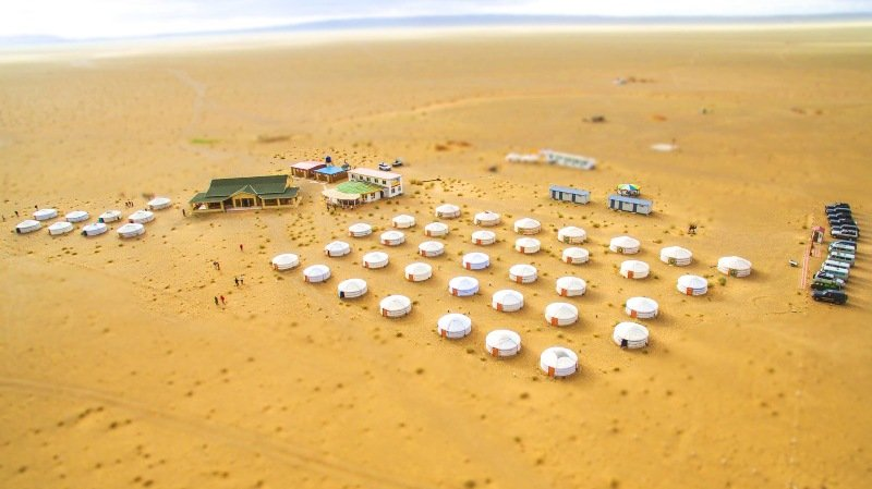 Gobi Discovery Tourist Ger camp in Mongolia