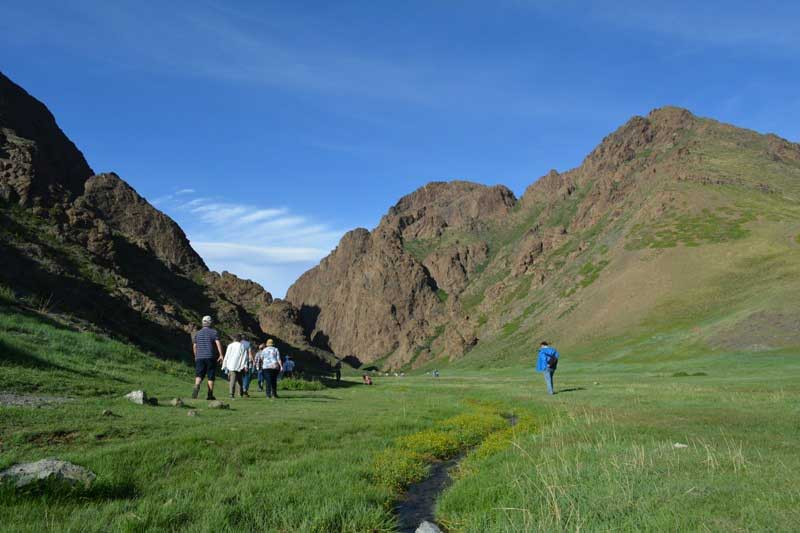 Yol valley or Eagle valley in Gobi