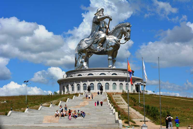chinggis khaan statue complex of Mongolia