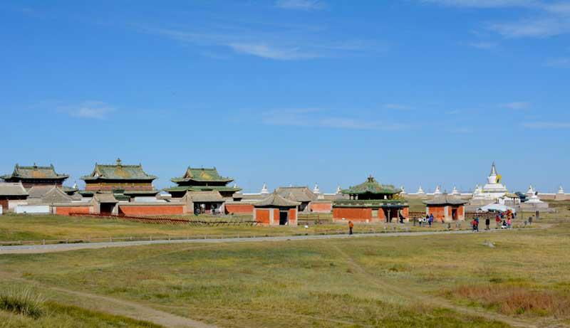 Erdenezuu Monastery in Kharkhorin