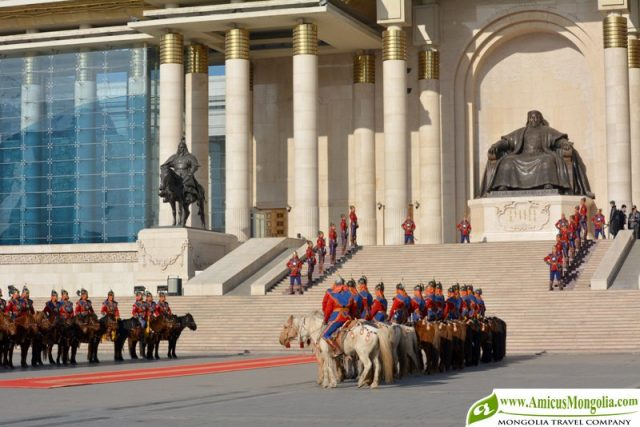 Mongolian National Pride Day Celebration