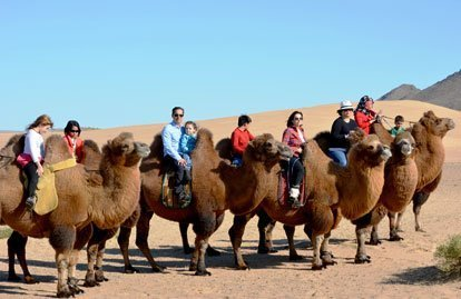 Mongolia family tour and travel with kids