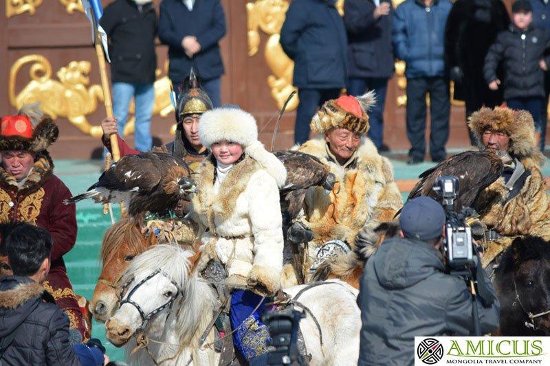Mongolia Spring Golden Eagle Festival