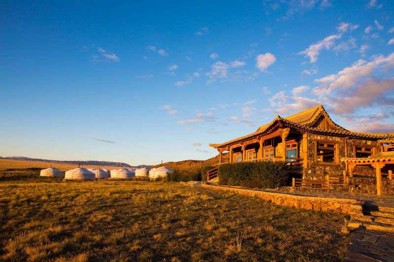 Three Camel Lodge in Mongolia