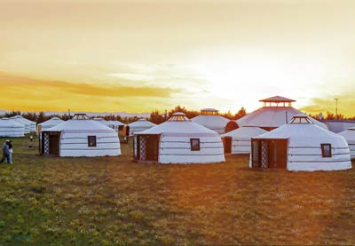 Gobi Mirage Lodge Ger camp