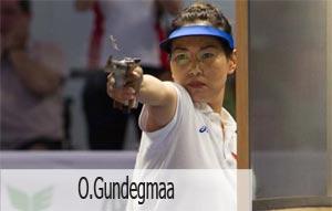 Shooting Athlete in Mongolia