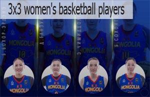 3x3 basketball in Mongolia