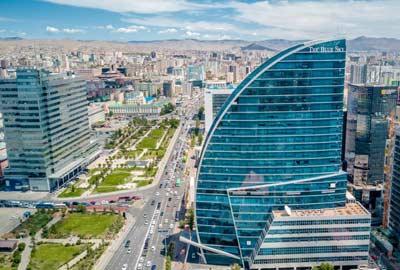 Blue Sky Hotel in Ulaanbaatar