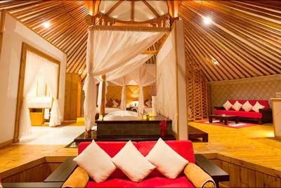 HS Khaan Resort Hotel Mongolia luxury