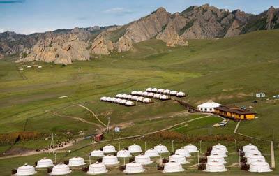 Terelj Star Gamp Mongolia